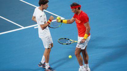 België sneuvelt in kwartfinale ATP Cup: Gillé en Vliegen verliezen beslissend dubbelspel tegen Nadal en Carreno Busta