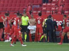 """Étrange fin de match en Liga: l'arbitre siffle trop tôt, les joueurs rappelés pour jouer la minute """"oubliée"""""""