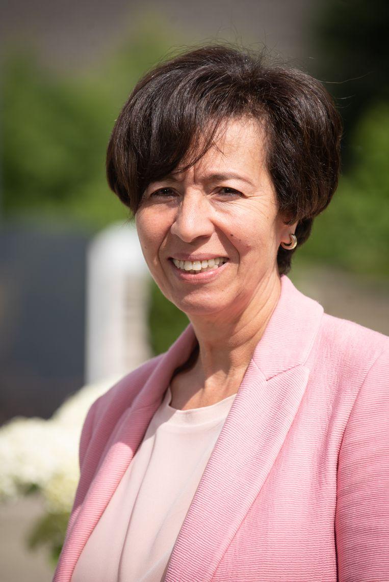 CD&V-kandidate Safia Marzouki benadrukt dat ze het bericht niet heeft geschreven.