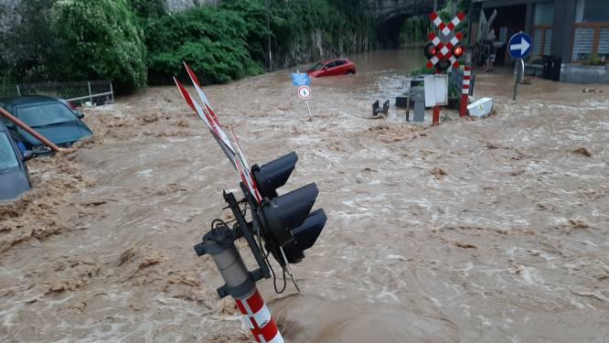 Twaalf Waalse gewestwegen blijven dicht na de overstromingen