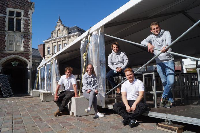 De drie jeugdcafés zijn klaar voor de Terrasse 2.0