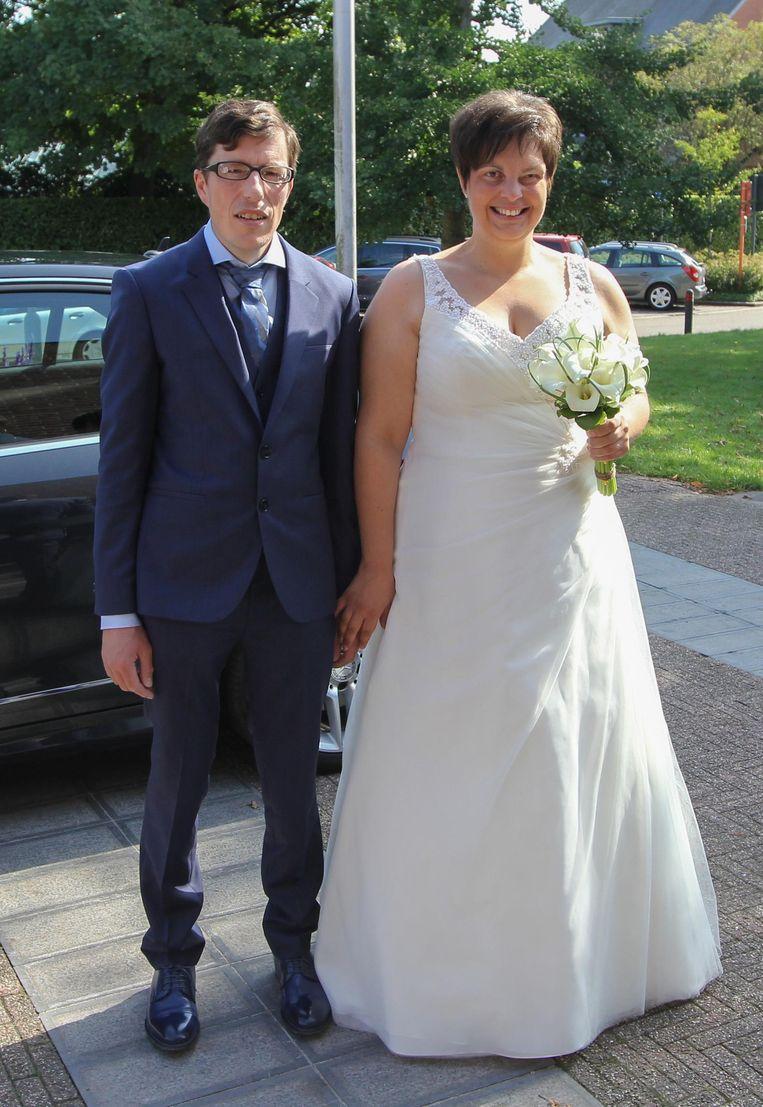 Jurgen Van Leuven en Ruth Plym gaven elkaar zaterdag hun jawoord.