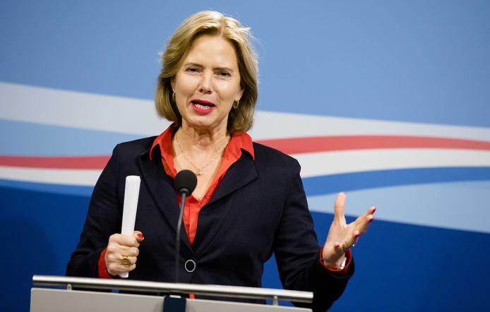 Minister Cora van Nieuwenhuizen (Infrastructuur)