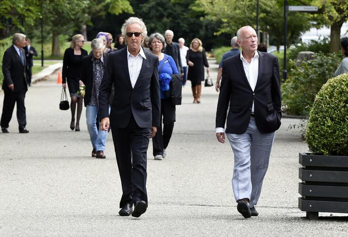 Hans van Willigenburg en Frans Mulder