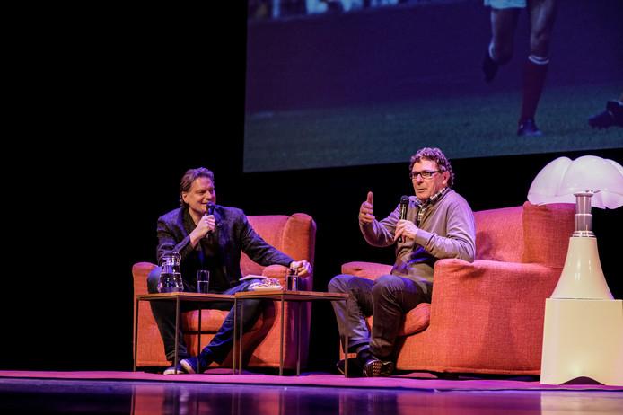 Eddy van der Ley met Willem van Hanegem