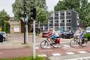 Deventer noemt de tijdelijke studentenhuisvesting aan het Teugseplein een voorbeeld van hoe flexwoningen eruit kunnen zien.