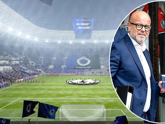 Bart Verhaeghe over het nieuwe stadion van Club