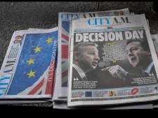 Dit zijn de voorpagina's van de Britse kranten na de brexit-deal
