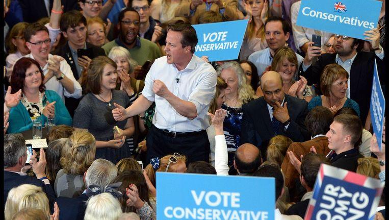 Premier David Cameron op campagne in Bath. Beeld PHOTO_NEWS