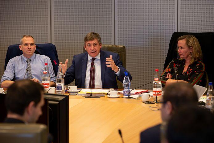 In het Vlaams Parlement is vandaag het debat over de begrotingscijfers hervat.