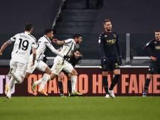Juventus zonder De Ligt moeizaam naar kwartfinale, ook Inter en Napoli verder
