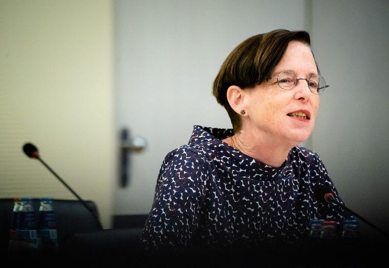 Een commissie onder leiding van Laura van Geest, voorzitter van de Autoriteit Financiële Markten, concludeerde dat de klimaatambitie voor verkeer, gebouwen en boeren moet worden verdubbeld. Beeld Hollandse Hoogte /  ANP