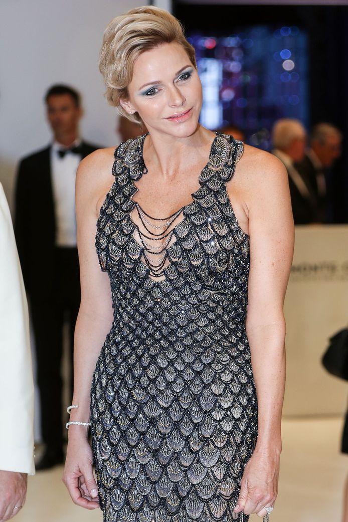 Prinses Charlene van Monaco.