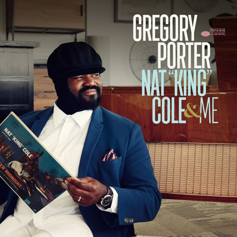 Gregory Porter, 'Nat King Cole & Me' Beeld Universal Music Group