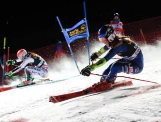Teamevent skiën dreigt spektakel zonder sterren te worden