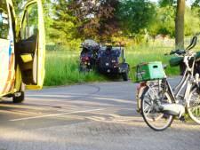 Jonge fietser gewond bij aanrijding met zijspan in Heeten