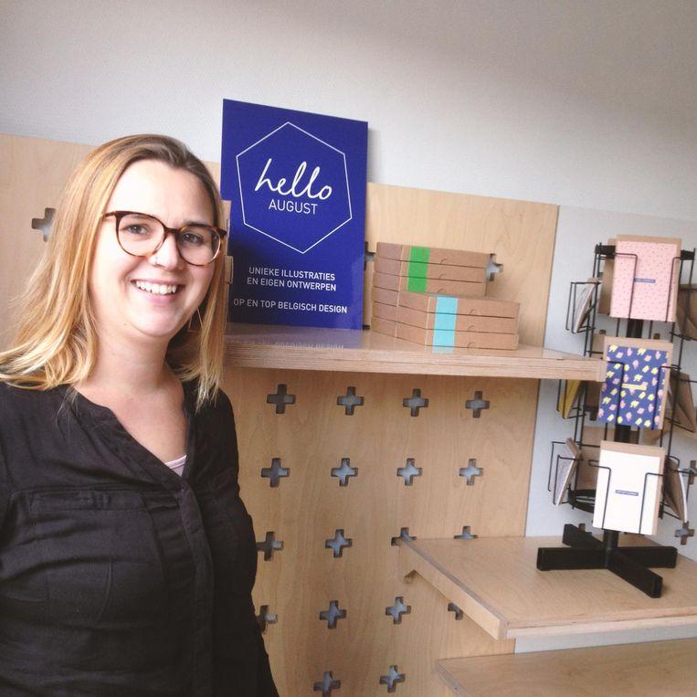 Grafisch ontwerpster Charlène Moulin opent op 9 december haar pop-upwinkel.