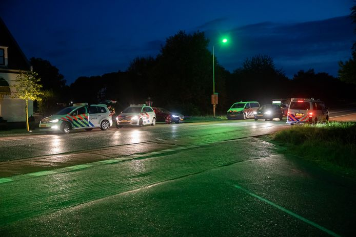 Het incident speelde zich af aan De Wijper in Heerle.
