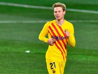 Frenkie de Jong schiet Barcelona voorbij Huesca na fenomenale assist van Messi