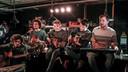 De bandleden van Mooneye, de enige West-Vlaamse band in de finale van De Nieuwe Lichting van Studio Brussel, hebben een akoestisch miniconcert gegeven in jeugdhuis Krak in Avelgem.