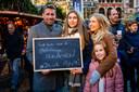 Ralf (45) en Elien (15) Van Loock, Birgit Geerts (43) en Ella (9) uit Lier.