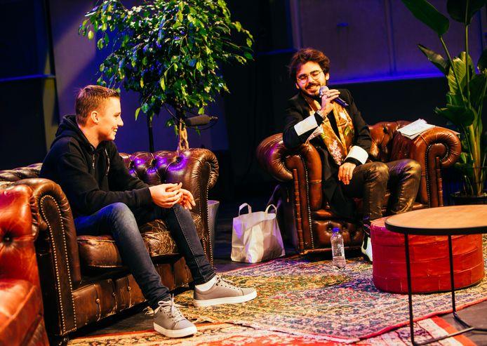 Thias Baakman uit Brummen won zilver bij Kunstbende in de categorie influencer. Hij wil met zijn komische sketches graag mensen aan het lachen maken.