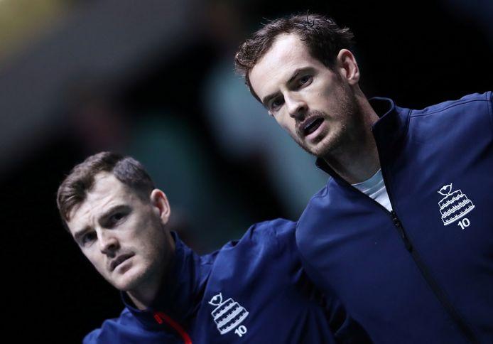 Jamie en Andy Murray.