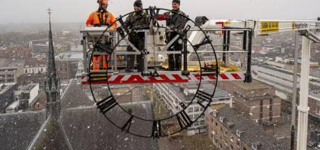 Eindhoven tot juni zonder tijd: wijzerplaten Catharinakerk krijgen beurt en led-lampjes