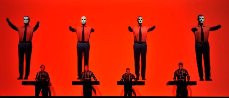 Kraftwerk: afstandelijke robots zonder de minste persoonlijkheidscultus. Beeld REUTERS