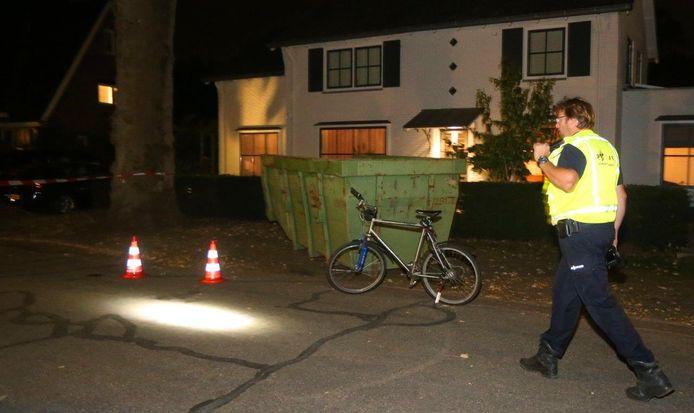 Ongeval met fiets op Heiweg in Vught.