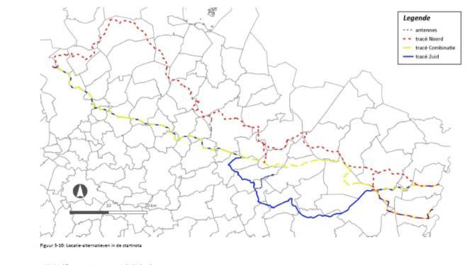 Pijpleiding van haven naar Ruhrgebied loopt mogelijk door Lichtaart