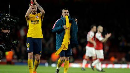 Arsenal laat zich de kaas van het brood eten door tien Madrilenen
