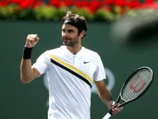 Federer se sort du piège Coric pour atteindre la finale d'Indian Wells