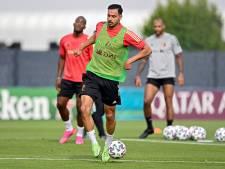 Thorgan Hazard absent à l'entraînement, Nacer Chadli bien présent