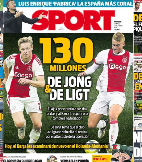 Stop de persen! Barcelona gaat voor Ajax-pareltjes!!!