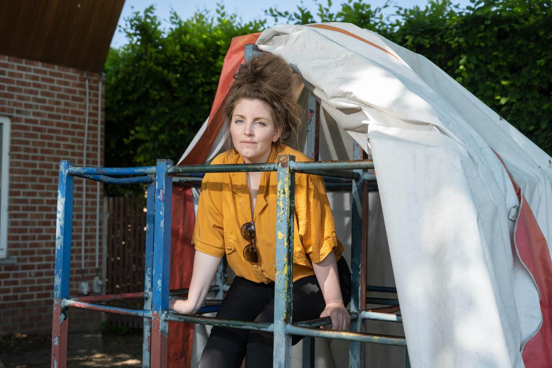 Lize Spit in het Belgische Viersel waar ze opgroeide.