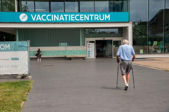 Vaccinatiecentrum Wetteren.