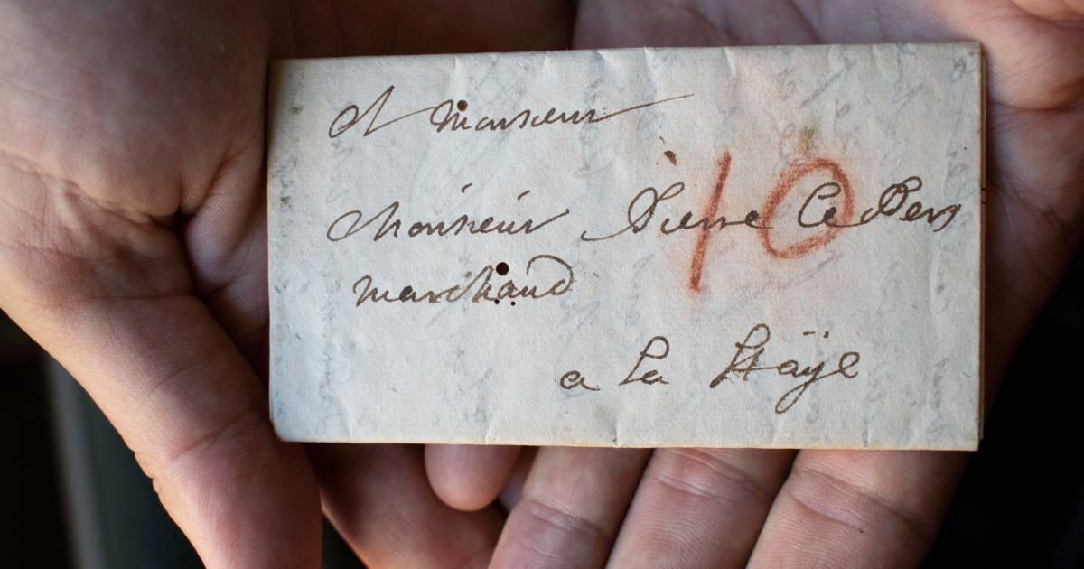 Wat schreef Jacques in 1697 aan zijn neef? Verzegelde brief eindelijk te lezen door nieuwe technologie - AD.nl