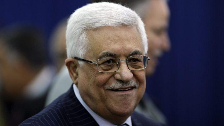 De Palestijnse president Mahmoud Abbas. Beeld reuters