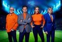 De Oranjezomer, Van der Gijp, Genee, Hendriks en Derksen.  Kosteloos