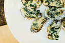 Oesters gegratineerd met Parmezaanse kaas
