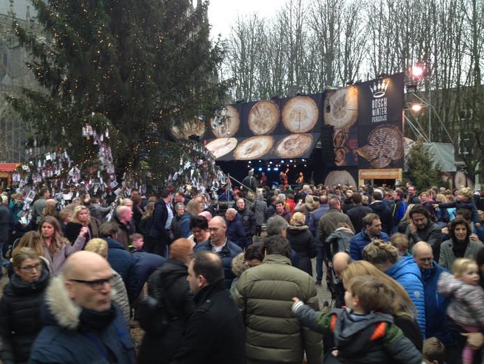 Het Bosch winterparadijs was volgens de betrokkenen een succes.
