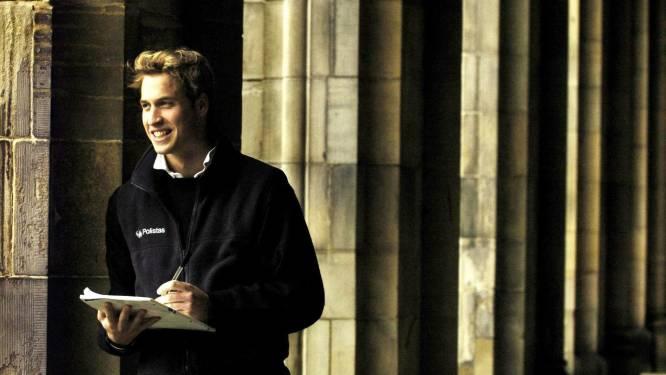 Prins William gebruikte een alias op de universiteit, zodat hij onder de radar kon blijven