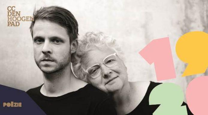 Bert Verbeke en z'n mama Annemie.