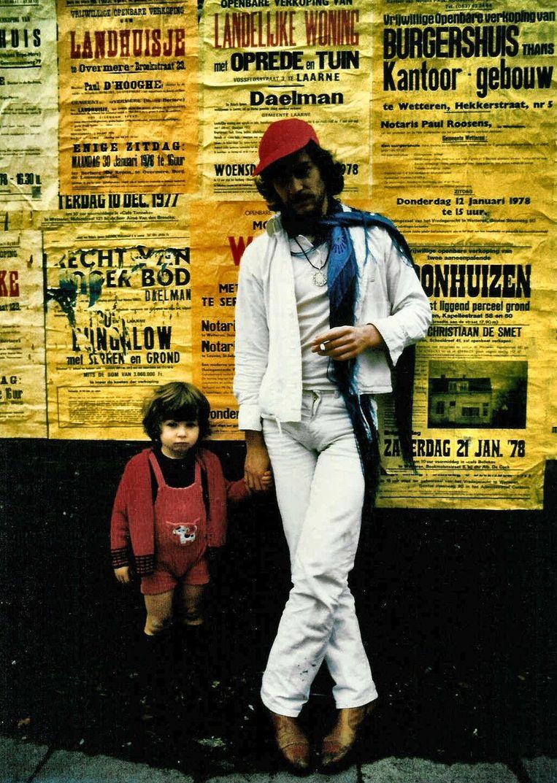 Wim De Craene met zijn zoon Ramses. Beeld Ramses De Craene