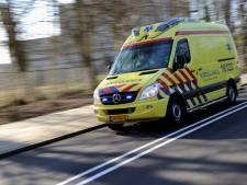 Gewonde nadat auto in berm belandt langs snelweg A27