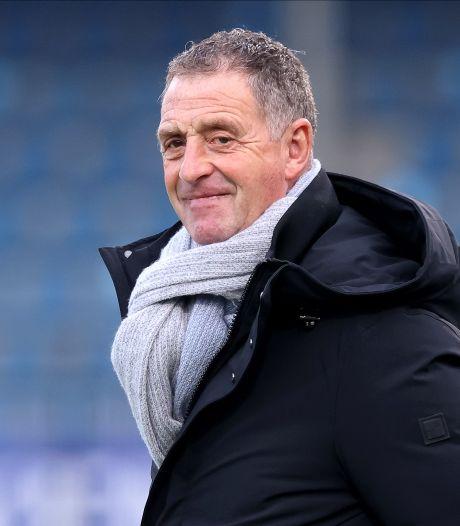 Hoofdtrainer Ernie Brandts komende dagen niet voor de groep, FC Eindhoven zoekt naar oplossing
