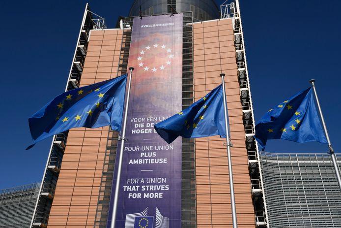 Het Berlaymontgebouw in Brussel.