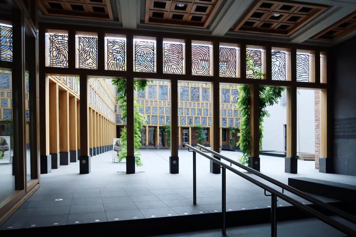Meteen links bij de ingang van het Deventer Stadskantoor komt in de Stadsetalage in de loop van dit jaar een Duurzaamheidscentrum.
