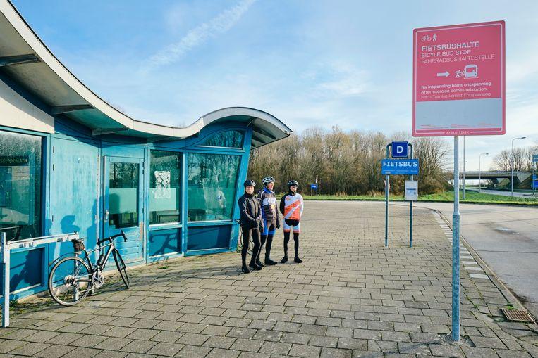 Jan Kolenberg, Dirk de Vries en Koos Klarenbeek. Beeld Sjaak Verboom